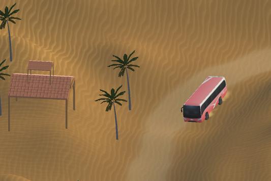3D Desert Safari Tour Bus apk screenshot