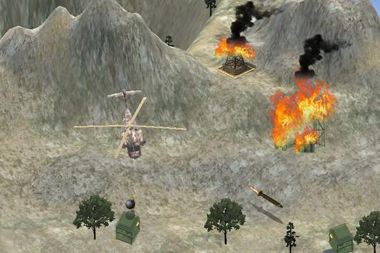 Forest Helicopter Battle poster