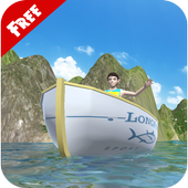 3D Boat Riding icon