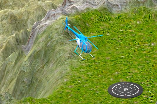 3D Helicopter Drive Simulator poster