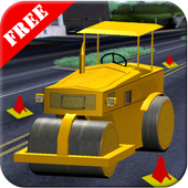 3D Road Roller icon