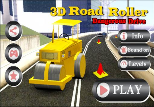 3D Road Roller poster