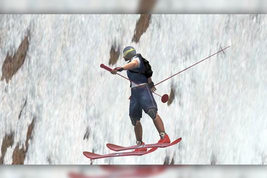 3D Snow SKI poster