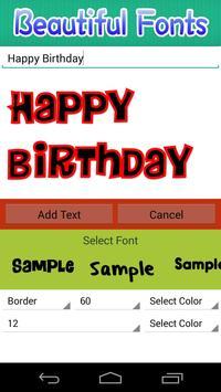 Birthday Photo Frames screenshot 20