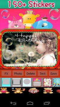Birthday Photo Frames screenshot 8