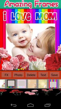 Photo Frames for Mother's Day poster