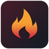 Flame Clean: Boost; Power save icon
