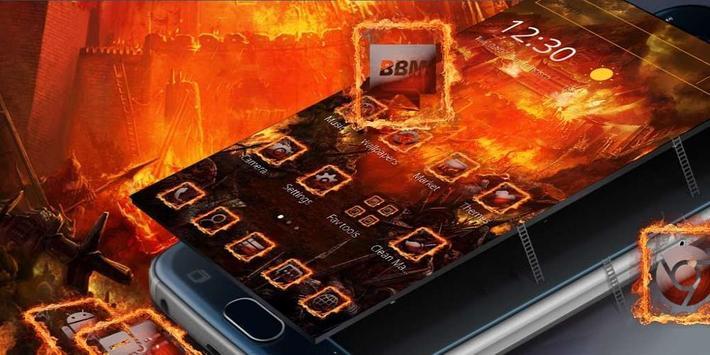 Flame City Theme screenshot 3