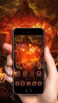 Flame City Theme screenshot 1