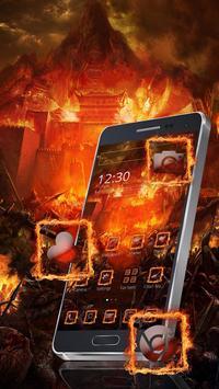 Flame City Theme screenshot 4