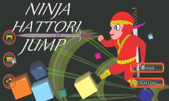 Ninja Hattori Jump poster