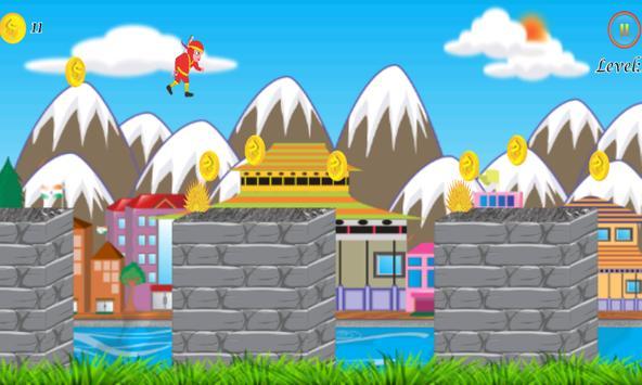 Ninja Hattori Jump apk screenshot