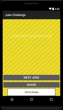 Joke Challenge for Whatsapp poster