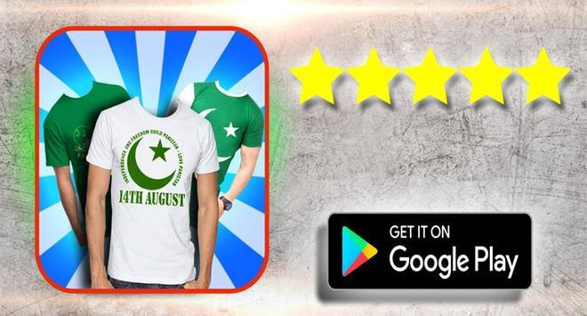 Pakistan Flag Suit Editor photo poster