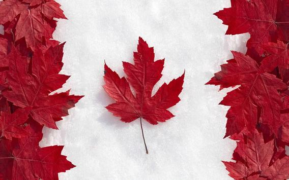 Canada Flag Wallpapers apk screenshot