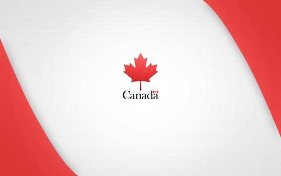 Canada Flag Wallpapers apk screenshot