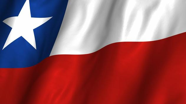 Chile Flag Wallpapers poster