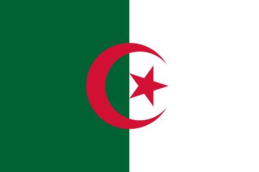 Algeria Flag Wallpapers poster