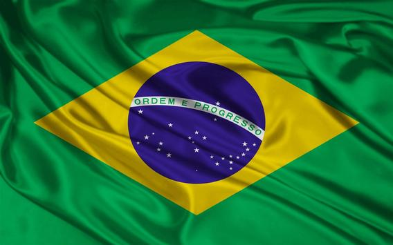 Brazil Flag Wallpapers poster