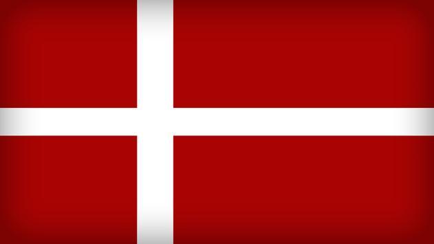 Denmark Flag Wallpapers poster