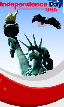 USA FLAG WALLPAPER poster