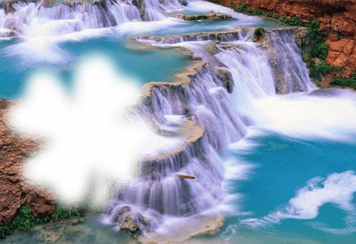 Waterfall Photo Frame screenshot 1