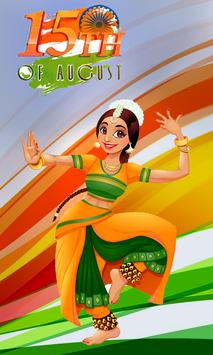 India Independence Day Magical Theme poster