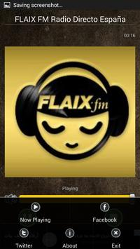 FLAIX FM Radio Directo España screenshot 2