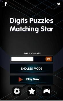Digits Puzzles Number Series: Matching Star screenshot 6