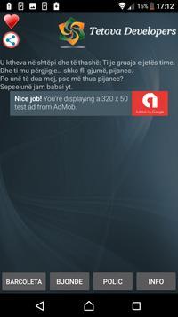 Barcoleta Shqip screenshot 6