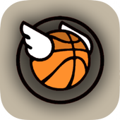 Flappy Dunk : Basket-Ball Bounce Shooter icon