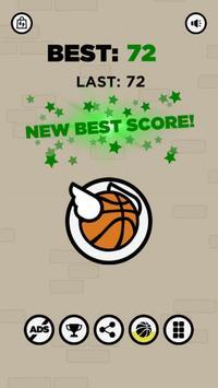 Flappy Dunk : Basket-Ball Bounce Shooter screenshot 3