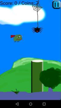 TGM Flappy Frog apk screenshot