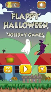 Flappy Halloween Holiday Games poster