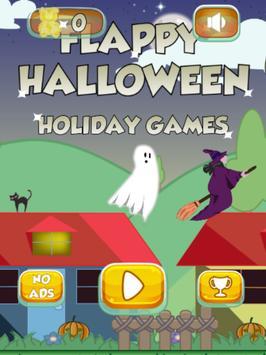 Flappy Halloween Holiday Games screenshot 4