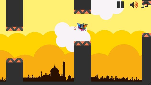 Flying Krishna Flappy Temple apk screenshot