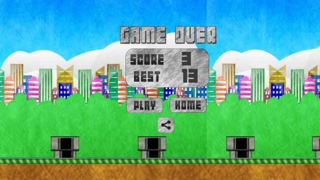 Flappy Smasher screenshot 1