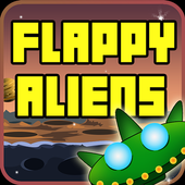 Flappy Alien-UFO Attack icon