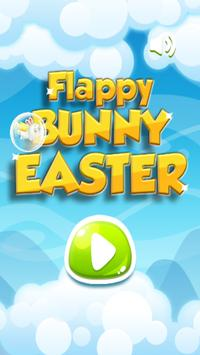 Flappy Bunny Easter poster