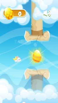 Flappy Bunny Easter screenshot 1