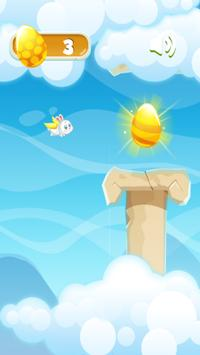Flappy Bunny Easter screenshot 2