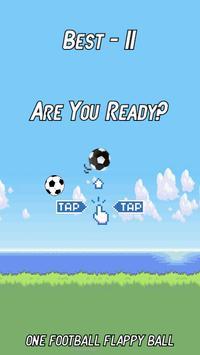 One Football Flappy screenshot 1