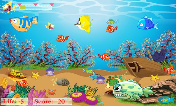 Flappy Hungry Fish apk screenshot