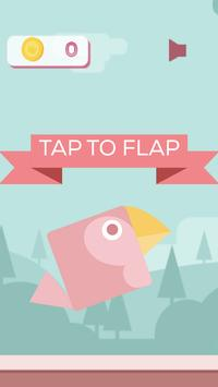 Flappy Flat Parrot screenshot 1