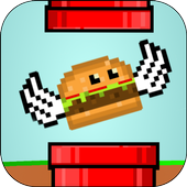 Flappy Food icon