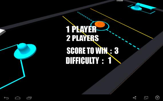 Air Hockey 3D poster