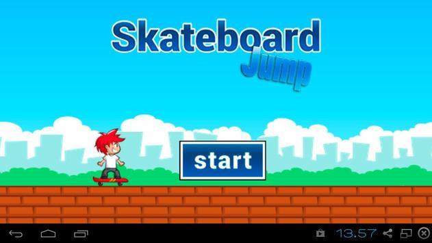 Skateboard Jump poster