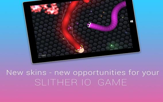 Super Skin for slither.io poster