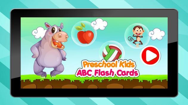 PreSchool Kids ABC Flash Cards poster