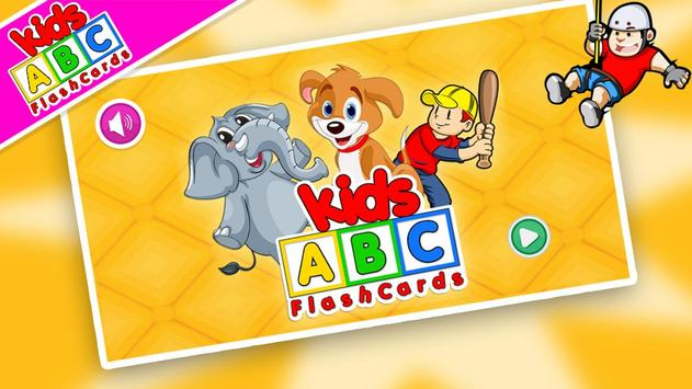 Kids ABC Flash Cards poster